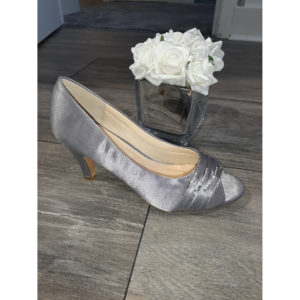 Asia Grey Occasion Shoe