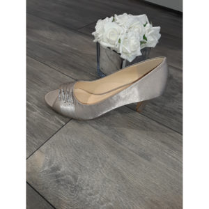 Asia Taupe Occasion Shoe