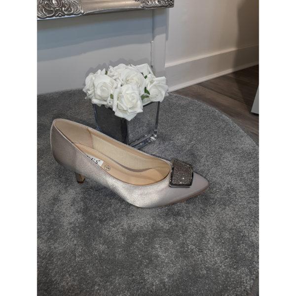 Fabiola Taupe Occasion Shoe