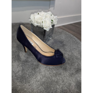 Lola Navy Occasion Shoe