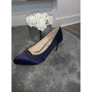 Opal Navy Occasion Shoe