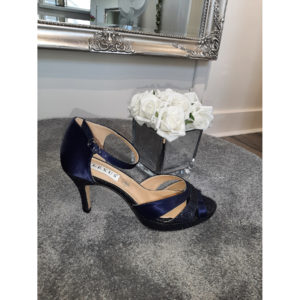 Venus Navy Occasion Shoe