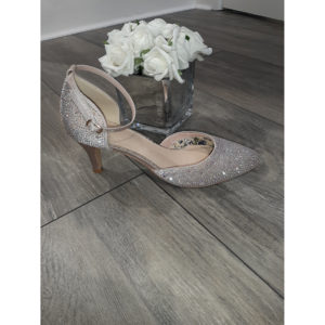 Xena Taupe Occasion Shoe