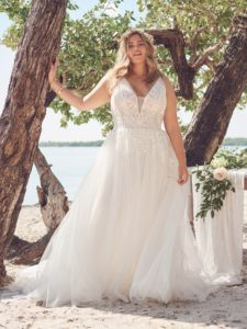 Jenessa   Rebecca Ingram Wedding Dre