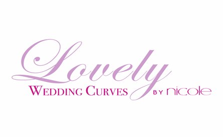 Lovely Wedding Curves by Nicole
